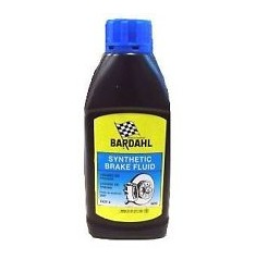 LIQUIDO DE FRENOS / SYNTHETIC BRAKE FLUID DOT 4. 500 ML.