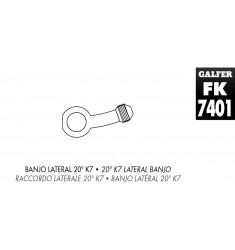 BANJO 20o LATERAL LATÓN NIQUELADO (UD) K7