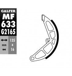 MORDAZA GZ 633-MOTO PIAGGIO