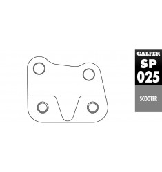 SOPORTE SP 025 HONDA SH 150 Í 260